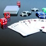 Which are the chances to be dealt aces when playing Texas Hold em Poker?